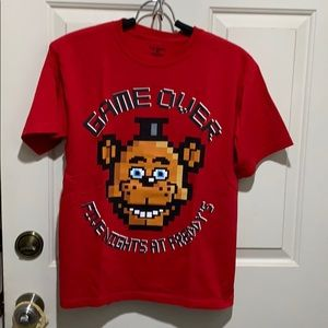 Five Nights At Freddy's Game Over Tee Boys M